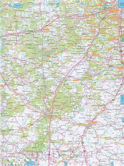 Карта Смоленской области автомобильная. Подробная карта ...: http://map-1.ru/1154086.html