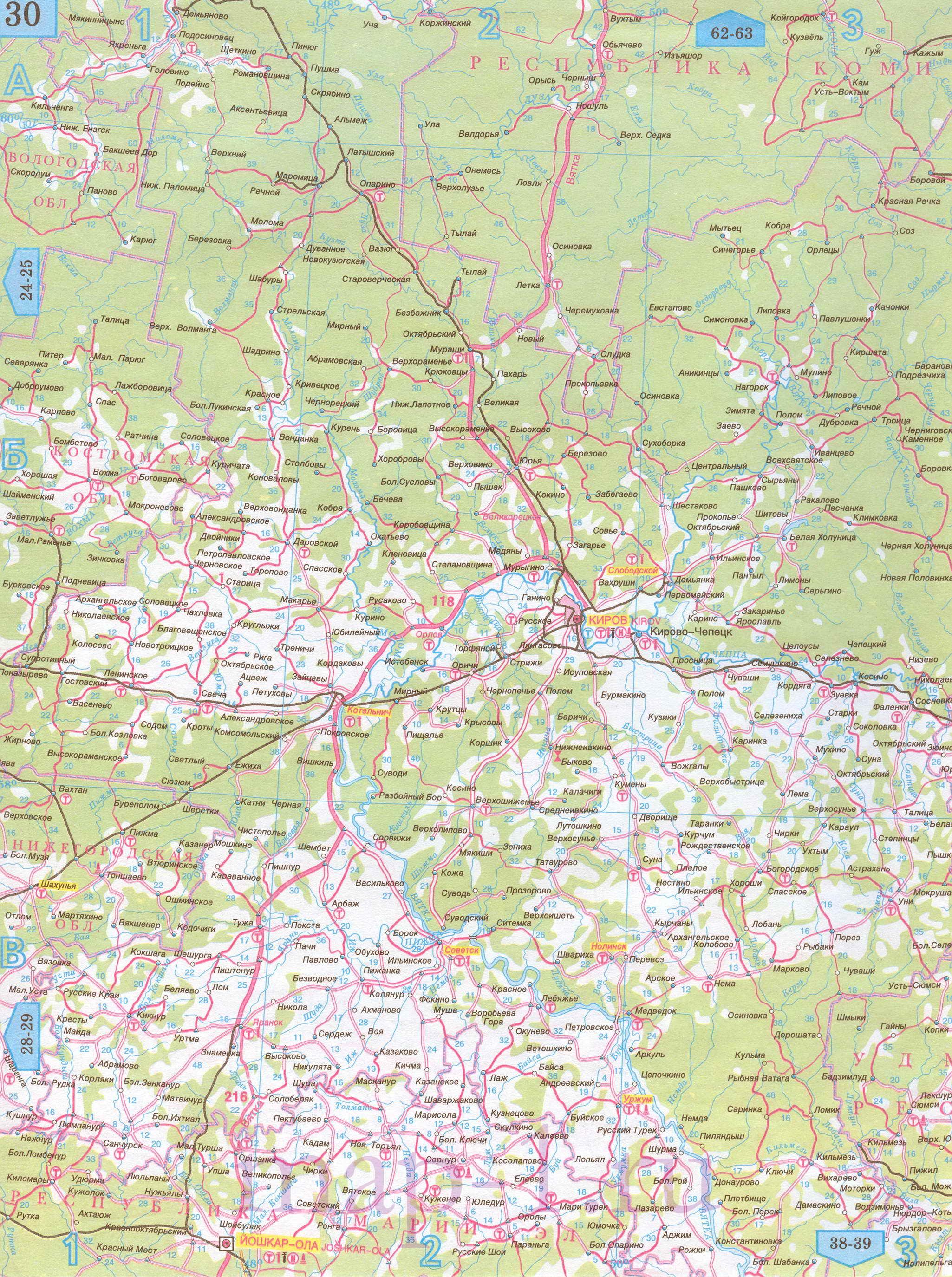 Скачать Топографические Карты Кировской Области
