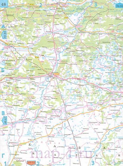 карта омской области скачать - фото 7