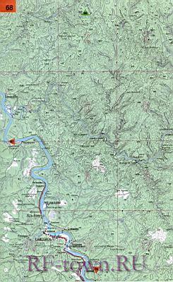 подробная карта красноярского края скачать бесплатно - фото 6