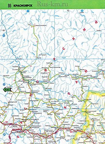 Новая 2011 года карта дорог